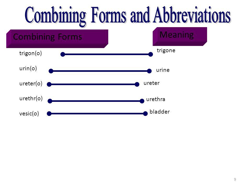 Combining Forms [trigon(o)]